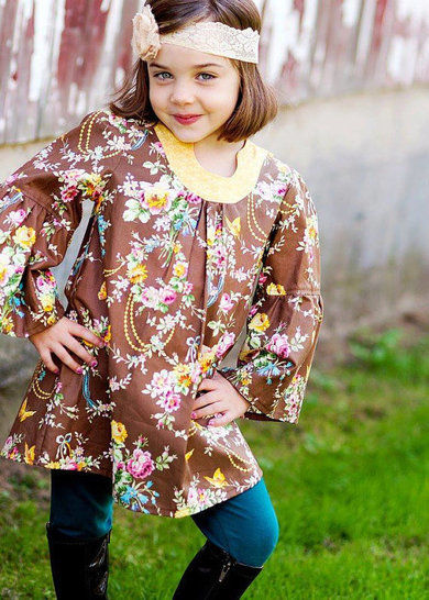 Download Sis Boom Pattern Co Emily Tunic For Girls - Sewing Patterns immediately at Makerist