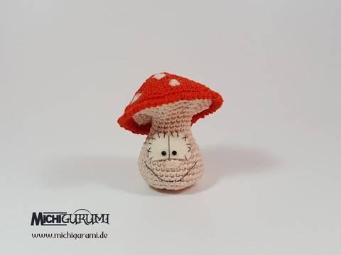 Häkelanleitung: Mini - Pilz (DE/EN) bei Makerist sofort runterladen