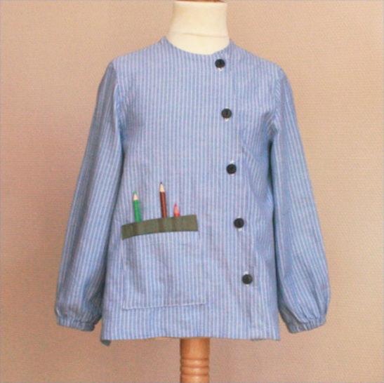 Télécharger Blouse ECOLIER - Patrons de couture tout de suite sur Makerist
