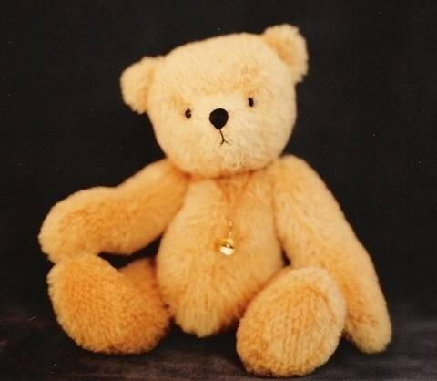 "Download Teddy Bear pattern and Illustrated Instructions for Ted E., an 8"" jointed Bear immediately at Makerist"