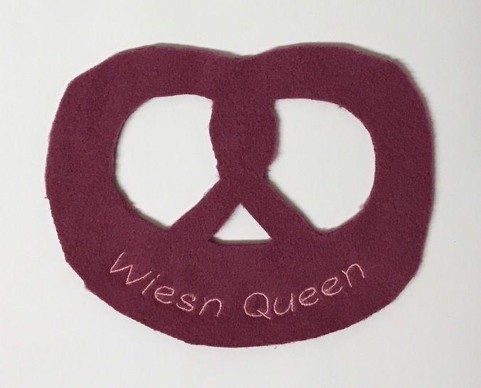 Stickdatei zur Brezel: Wiesn Queen - Stickdateien bei Makerist sofort runterladen