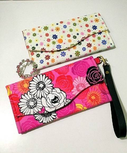 Download Simple clutch with 8 flap designs - great for beginners immediately at Makerist