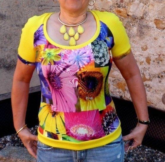Télécharger T-shirt  Ambre - Patrons de couture tout de suite sur Makerist