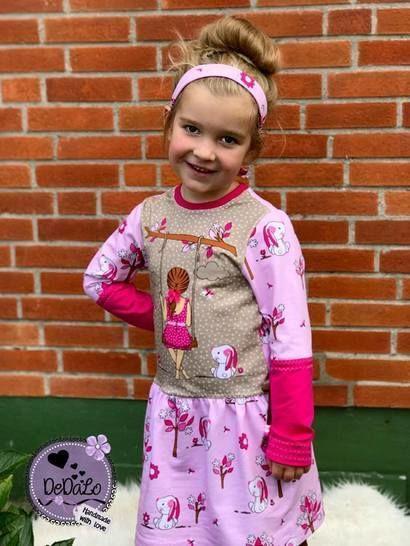 "eBook Basic Line for Kids by Lennähna Kleid ""Girls Dress"" Größen 86 - 170 - Nähanleitungen bei Makerist sofort runterladen"