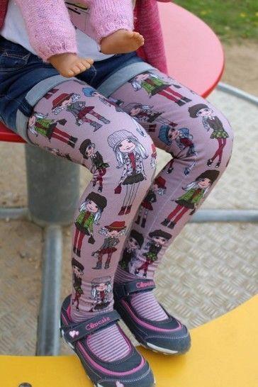 "eBook Basic Line for Kids by Lennähna ""Leggings"" Größen 86 - 170 - Nähanleitungen bei Makerist sofort runterladen"