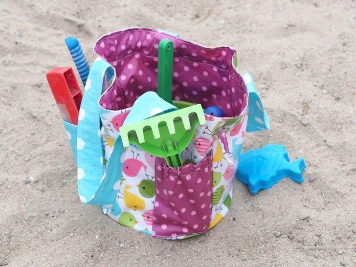 EBook Gartentasche Spielzeugtasche - Nähanleitungen bei Makerist sofort runterladen
