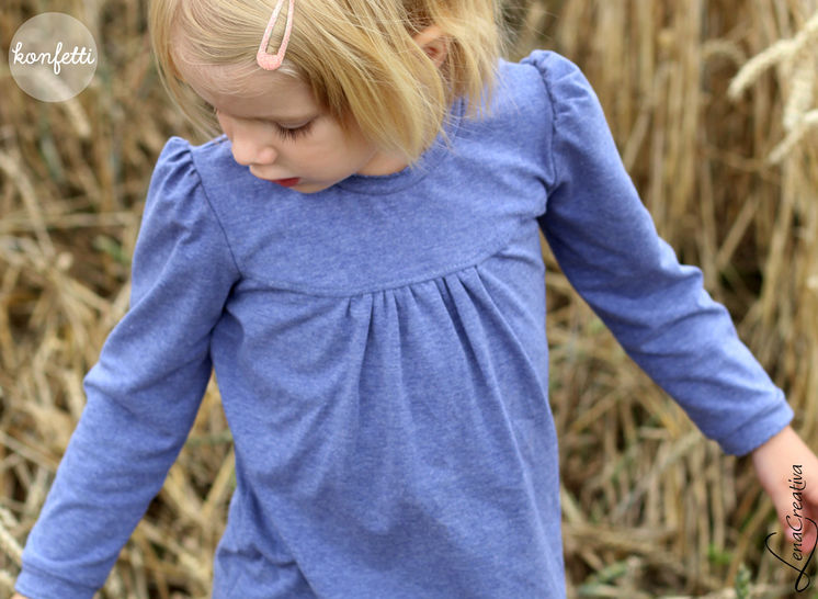 Download Girly Shirt (including long and short sleeves) - Sewing Patterns immediately at Makerist