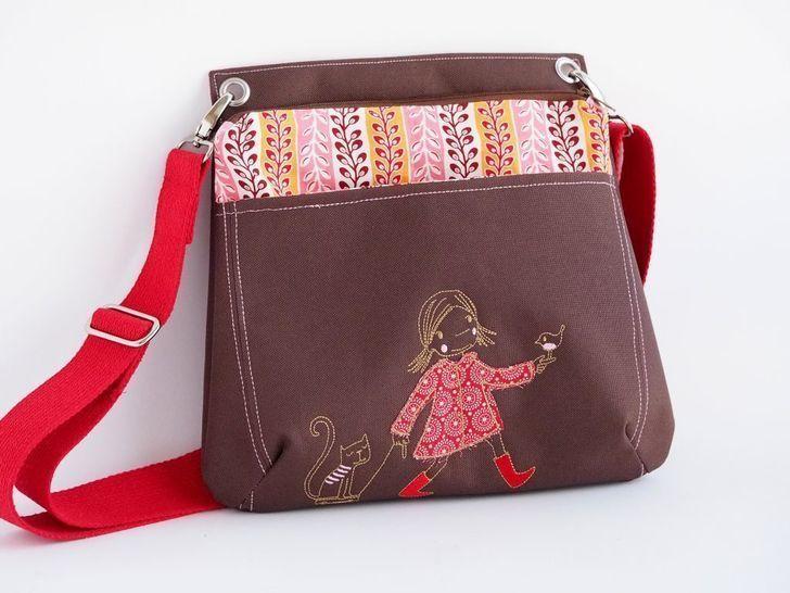 EBook Tasche Malu - Nähanleitungen bei Makerist sofort runterladen