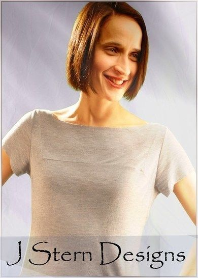 Download The Misses' Tee - detailed sewing and pattern - Sewing Patterns immediately at Makerist