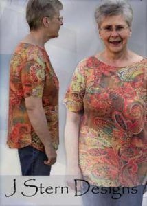 Download The Women's Tee - detailed sewing and pattern - Sewing Patterns immediately at Makerist