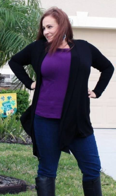 Download The Tee Twin Set - Tee and Cardi Sewing Pattern with Instructions immediately at Makerist