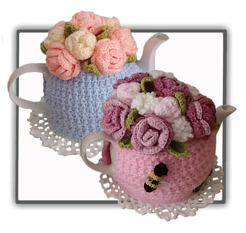 Rose Garden Bouquet Tea Cosy (en) bei Makerist sofort runterladen