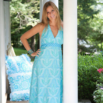 Download Sis Boom Pattern Co Lucy Halter Dress for Women - Sewing Patterns immediately at Makerist