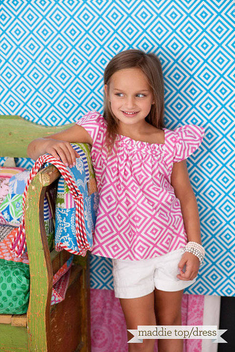 Download Sis Boom Pattern CO Maddie Dress or Top Pattern for Girls immediately at Makerist