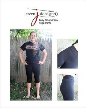 Download Easy Fit and Sew Yoga Pants - detailed sewing and pattern - Sewing Patterns immediately at Makerist
