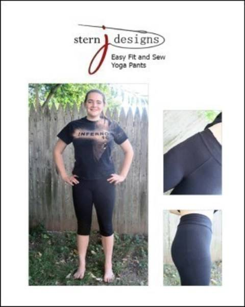 Download Easy Fit and Sew Yoga Pants - detailed sewing and pattern immediately at Makerist