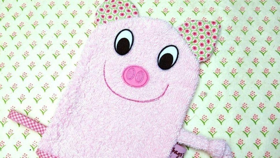 E-Book Waschlappen Schwein gewerbliche Nutzung - Nähanleitungen bei Makerist sofort runterladen