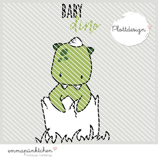 emmapünktchen ® - baby dino plottdesign - Plotterdateien bei Makerist sofort runterladen