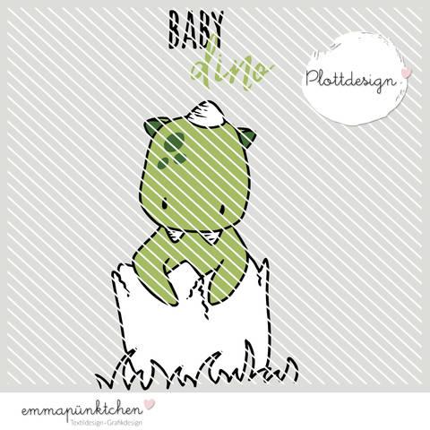 emmapünktchen ® - baby dino plottdesign bei Makerist sofort runterladen