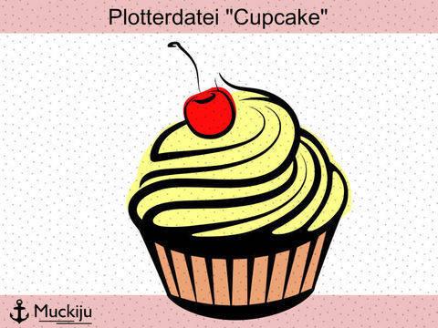 "Plotterdatei ""Cupcake"" bei Makerist sofort runterladen"