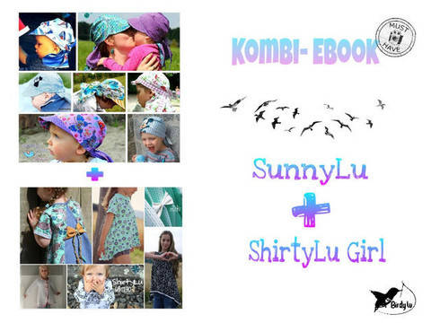 Kombi- Ebook ShirtyLu Girl & SunnyLu bei Makerist sofort runterladen