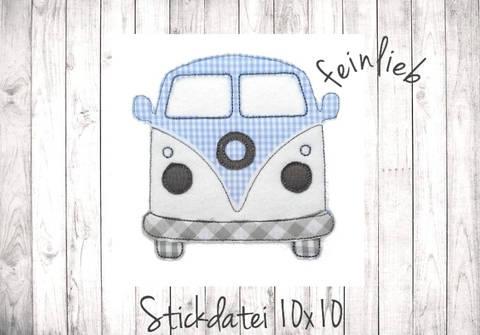 Bulli Doodle Stickdatei bei Makerist sofort runterladen