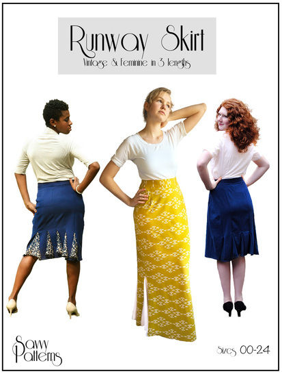 Download Runway Skirt  - Sewing Patterns immediately at Makerist