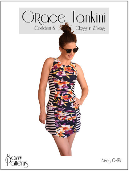 Download Grace Tankini - Sewing Patterns immediately at Makerist