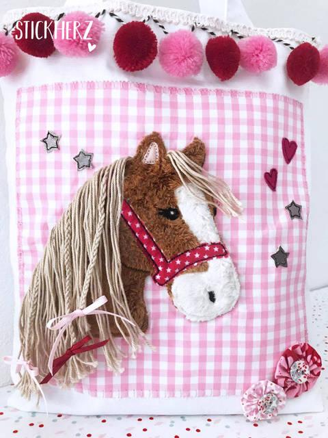 Stickdatei Pony Lulu 10x10 bei Makerist sofort runterladen