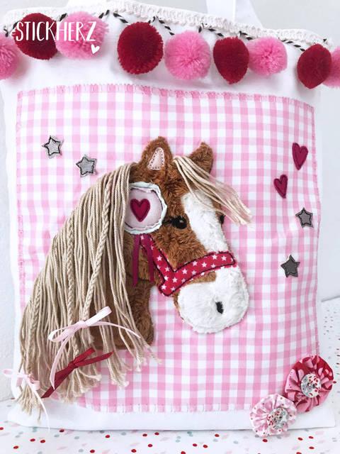 Stickdatei Pony Lulu 18x30 bei Makerist sofort runterladen