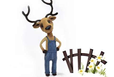 Häkelanleitung Der Hirsch bei Makerist sofort runterladen