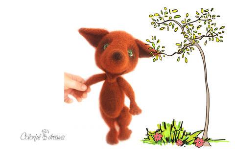 Häkelanleitung Der kleine Fuchs bei Makerist sofort runterladen