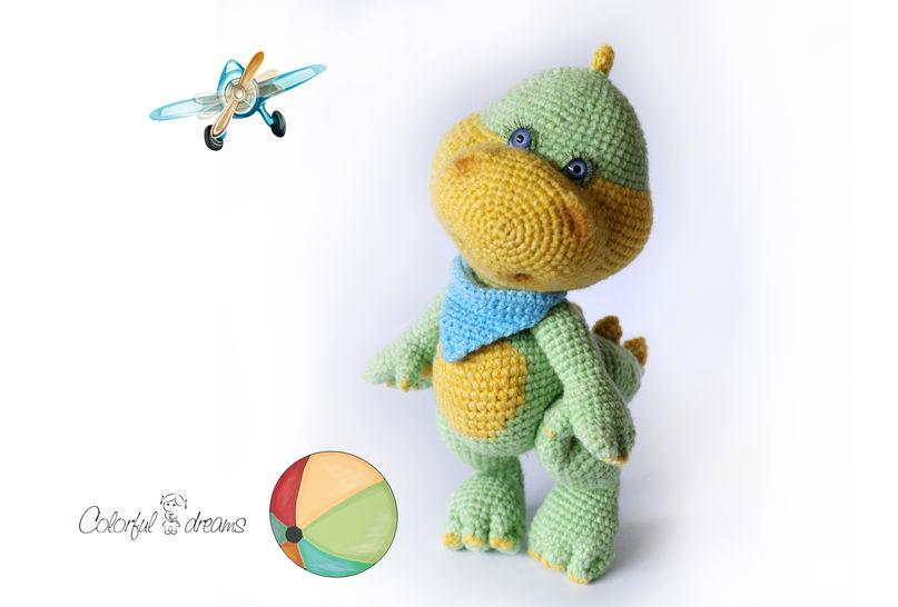 Häkelanleitung Das Dino Baby