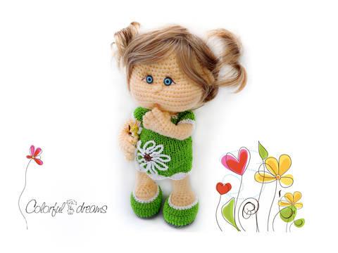 Häkelanleitung Puppe Nina bei Makerist sofort runterladen