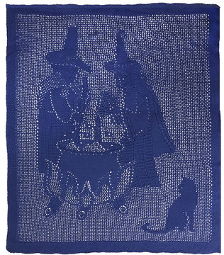 Download Witches' Brew knitted Throw - Knitting Patterns immediately at Makerist