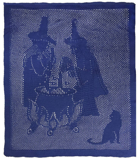 Download Witches' Brew knitted Throw immediately at Makerist