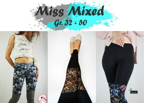 * Freestyle Rocker *  Miss Mixed * Gr. 32 - 50 * Leggings bei Makerist sofort runterladen
