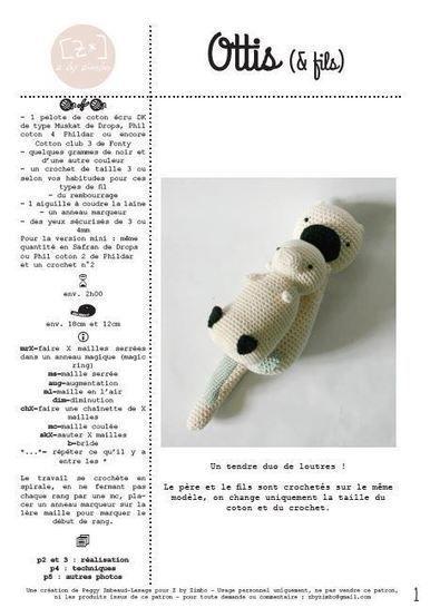 Télécharger Ottis & fils - Modèles de crochet tout de suite sur Makerist