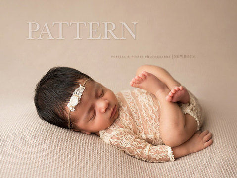 Download Newborn Romper - Photography Prop - Sewing Patterns immediately at Makerist
