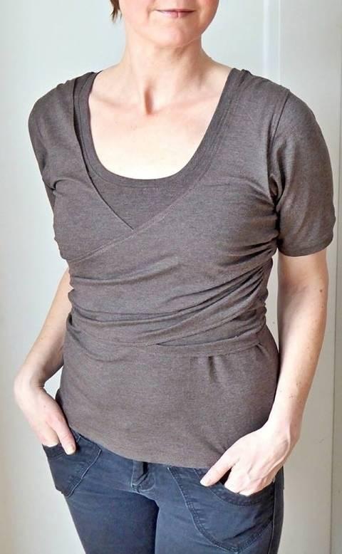 Schnittmuster Shirt und Kleid Fräulein Edna bei Makerist sofort runterladen