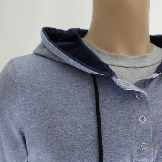 ✂ Schnittmuster Malte ✂ Langarmshirt für Männer - Nähanleitungen bei Makerist sofort runterladen
