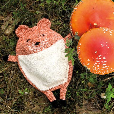 Schmusetuch Mister Anuki der Fuchs Häkelanleitung bei Makerist sofort runterladen