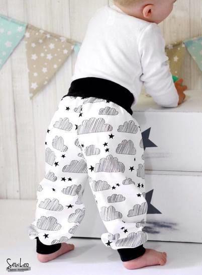 Schnittmuster Babyhose Pumpi - Nähanleitungen bei Makerist sofort runterladen
