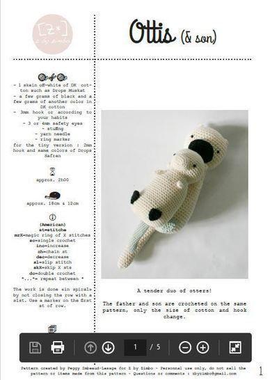Download Ottis & son - Crochet Patterns immediately at Makerist