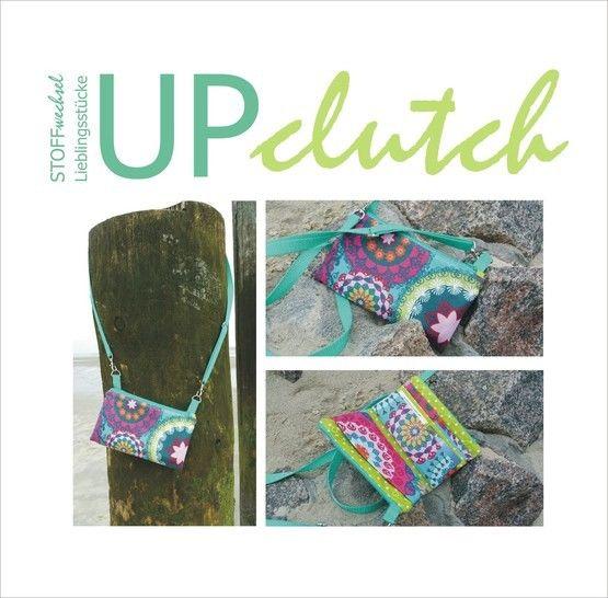 UPclutch - die perfekte Tasche für Urlaub, Party, Konzert... - Nähanleitungen bei Makerist sofort runterladen