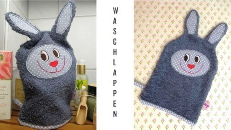 E-Book Waschlappen Hase gewerbliche Nutzung - Nähanleitungen bei Makerist sofort runterladen