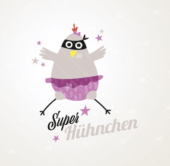 Super-Huhnchen - Plotterdatei  - Plotterdateien bei Makerist sofort runterladen
