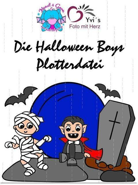 Plotterdatei HalloweenBoys bei Makerist sofort runterladen