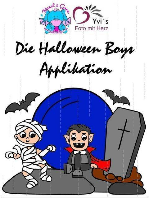 Applikationsvorlage HalloweenBoys bei Makerist sofort runterladen