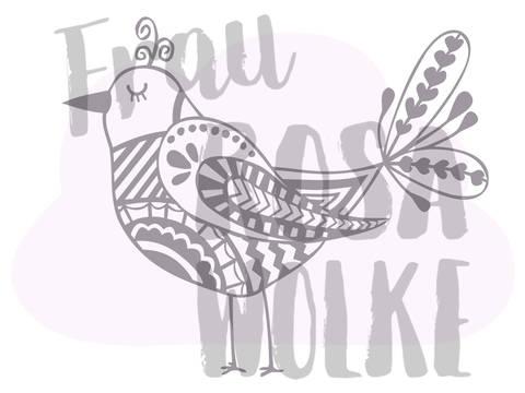 Vogel aus der Frühlingsserie von Frau Rosa Wolke bei Makerist sofort runterladen